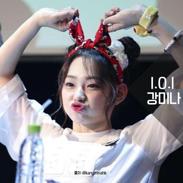 Korean Kpop Idol Girl Group Ioi Kang Minah Kpop Idol Trending Hairstyle Space Bun Trend Kpopstuff For Girls Women Bun Hairstyles Diy Hair Bun Korean Hairstyle