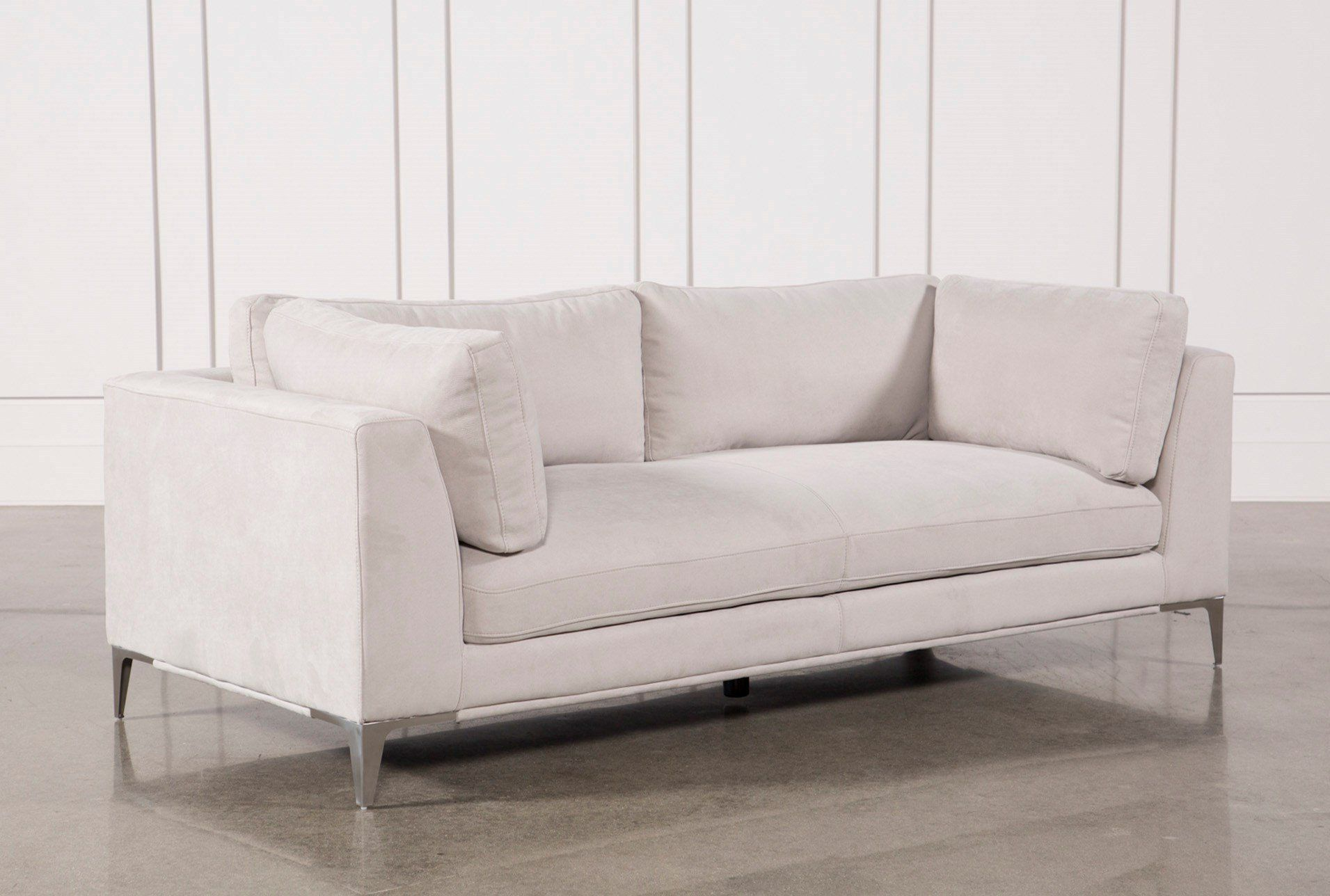 Best Shop For Apollo Light Grey Sofa W 2 Pillows At 400 x 300