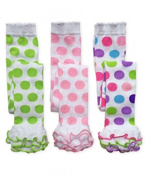 138d58dd6a93d Jefferies Socks Girls Dot & Stripe Footless Tights | Trendy girl ...
