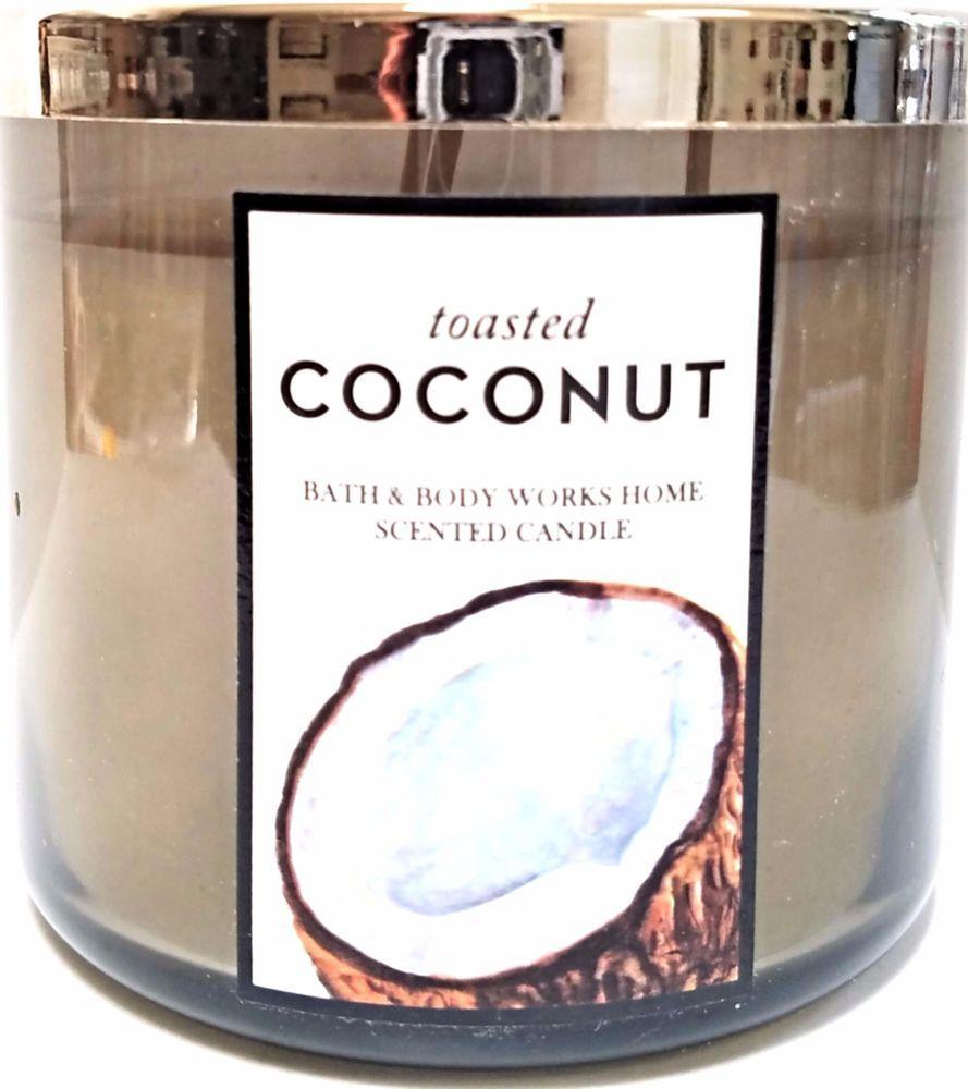 Bath /& Body Works Sunny Coconut 3-Wick 14.5 oz Candle