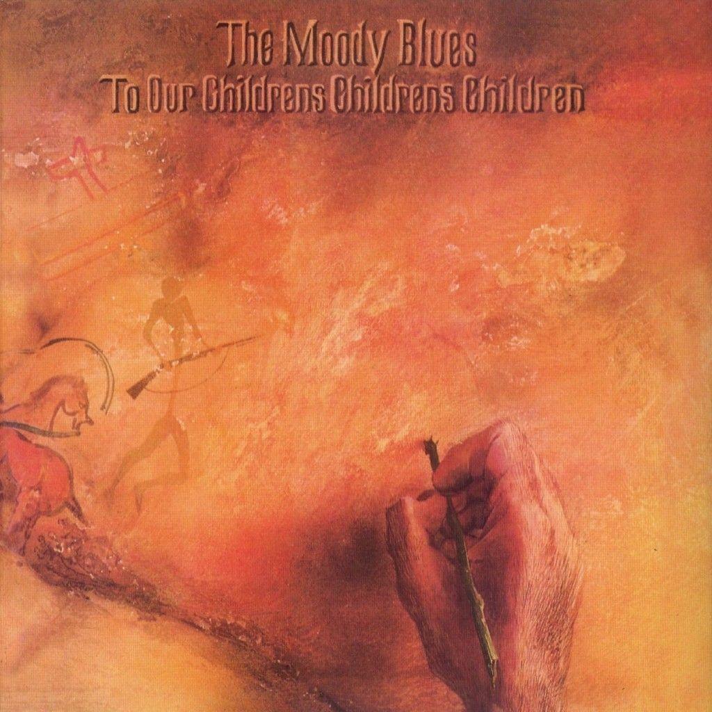 1969 The Moody Blues - To Our Children's Children's Children [Threshold THS1] artwork: Phil Travers #albumcover #illustration