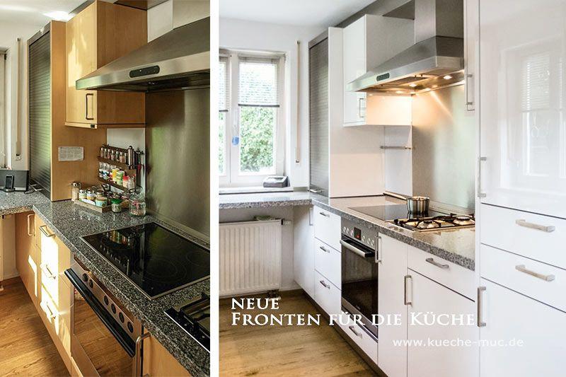 Přes 1000 nápadů na téma Neue Küchenfronten na Pinterestu - küche in dachschräge