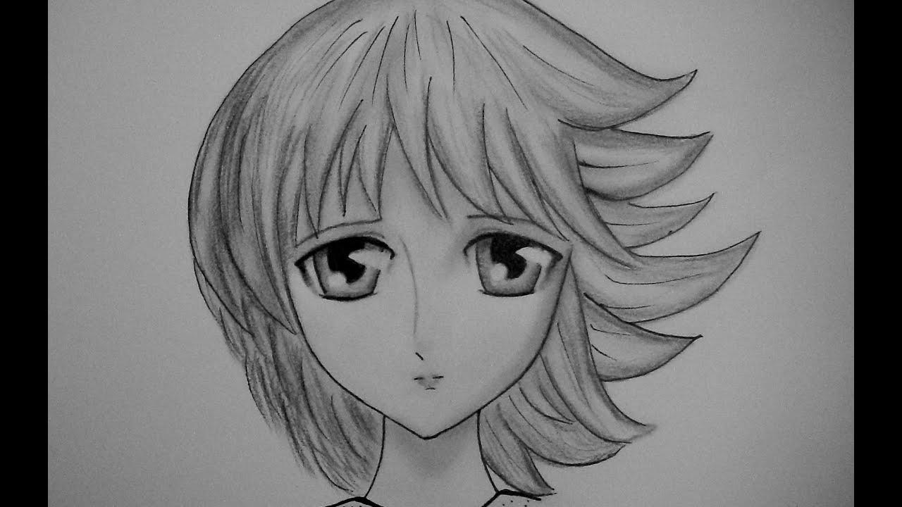 Dibujos De Anime A Lapiz Buscar Con Google Como Dibujar Rostros Dibujar Rostros Dibujos