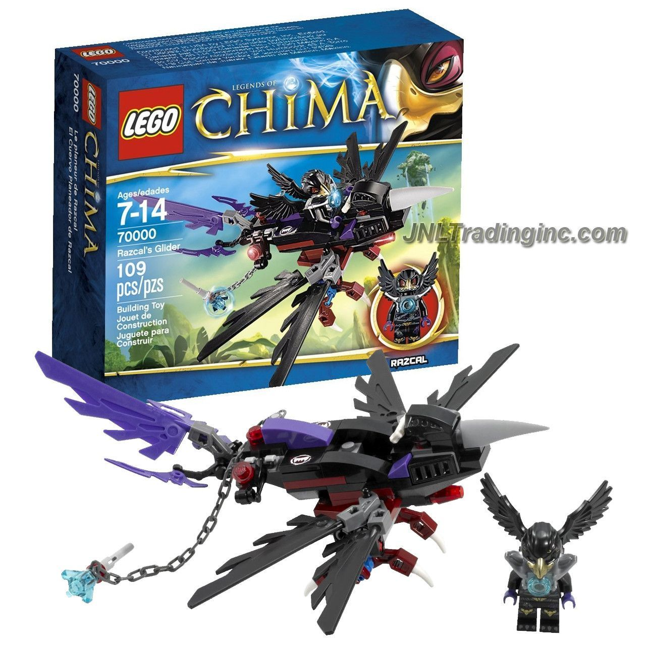 LEGO LEGENDS OF CHIMA RAZCAL/'S GLIDER MINIFIGURE SET 70000 *BRAND NEW SEALED*