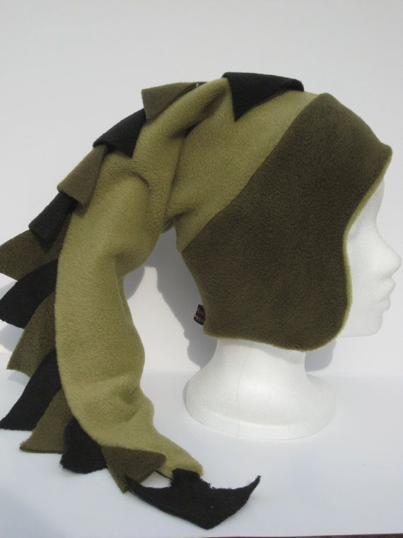 03b9d6bf203 fleece dragon hat sewing tutorial - I ll have to make one of these for  Stormageddon