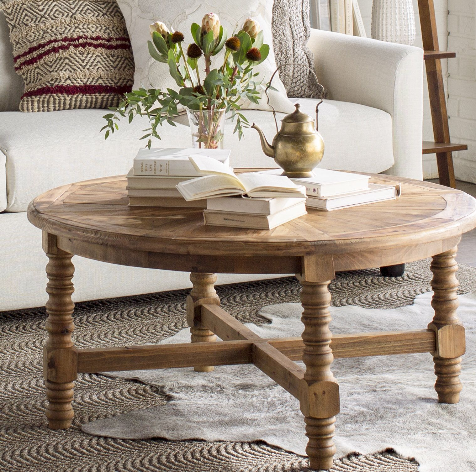 Haylie Wooden Coffee Table Coffee Table Coffee Table Farmhouse Coffee Table Wood [ 1506 x 1518 Pixel ]