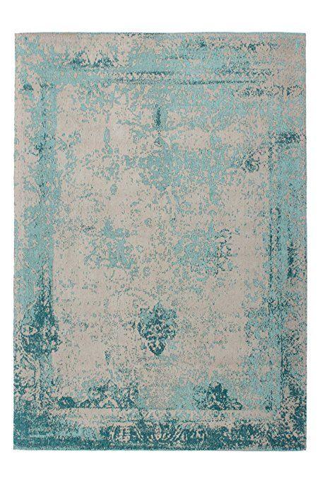 Teppich Wohnzimmer Carpet modernes Design Vintage RUG Nostalgia - wohnzimmer design turkis
