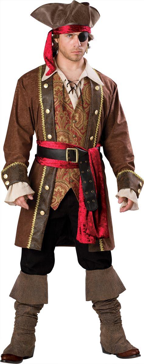 Captain Skullduggery Men Pirate Halloween Costume $19999 The - halloween costumes ideas men