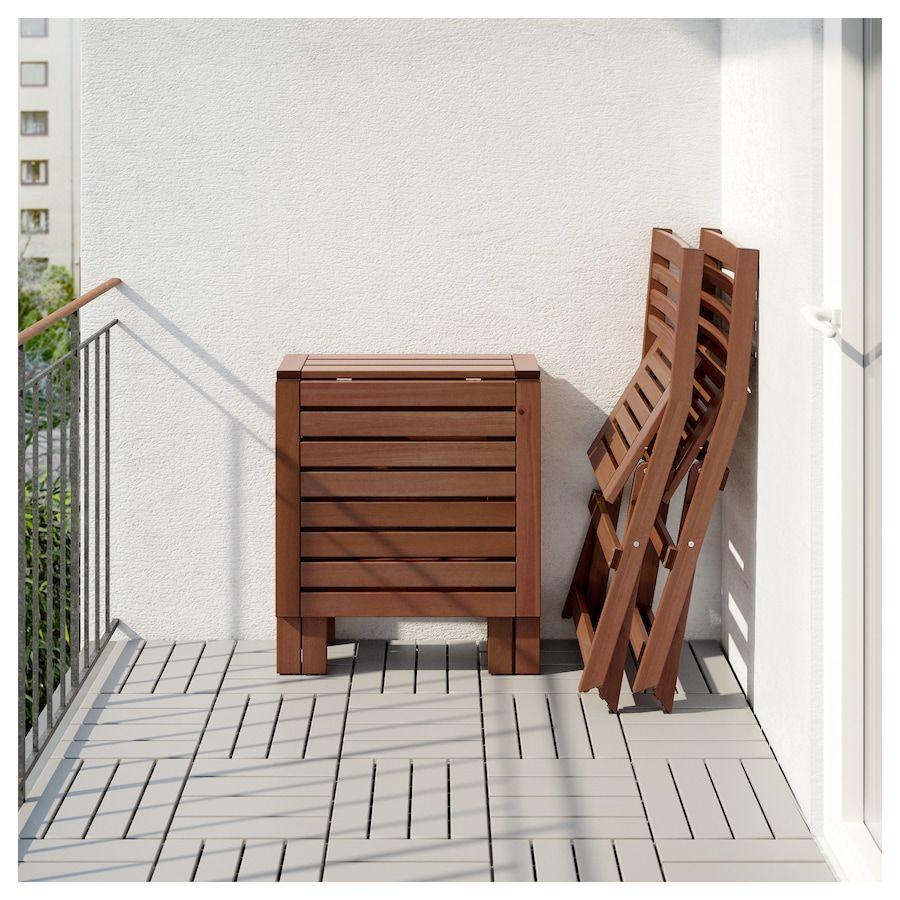 Ikea Applaro Tisch 2 Klappstuhle Aussen Kleiner Tisch Und Stuhle