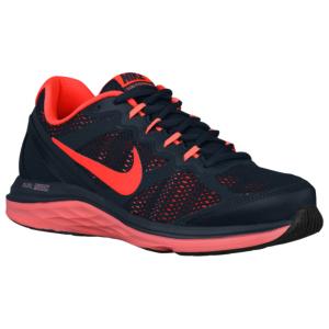 Running shoes · Nike Dual Fusion Run 3 - Women's - Classic Charcoal/Lava  Glow/Bright Crimson
