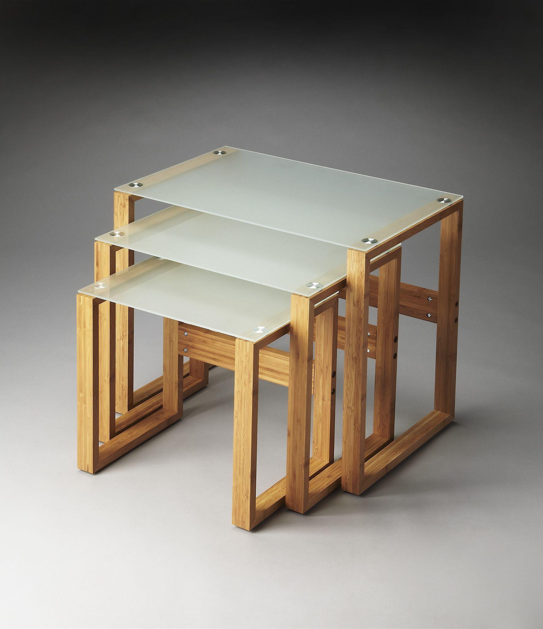 Merveilleux Arliss Modern Rectangular Nesting Tables Multi Color