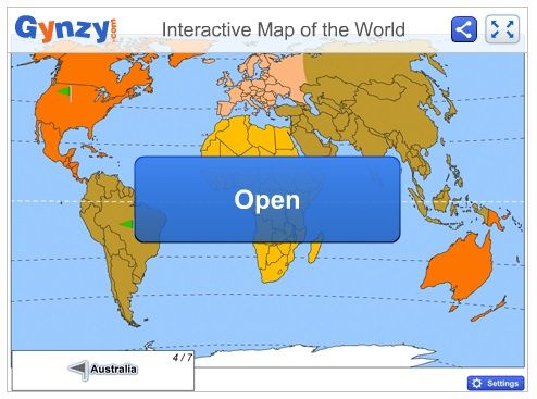 Teach the topography of the world with this interactive game map for teach the topography of the world with this interactive game map for your smart board try it out in your social studies class httpgynzy gumiabroncs Image collections