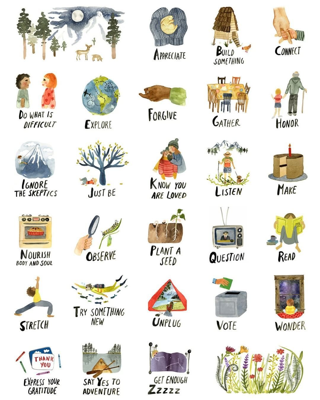 The Abcs Of Life From Little Truths Studio Available
