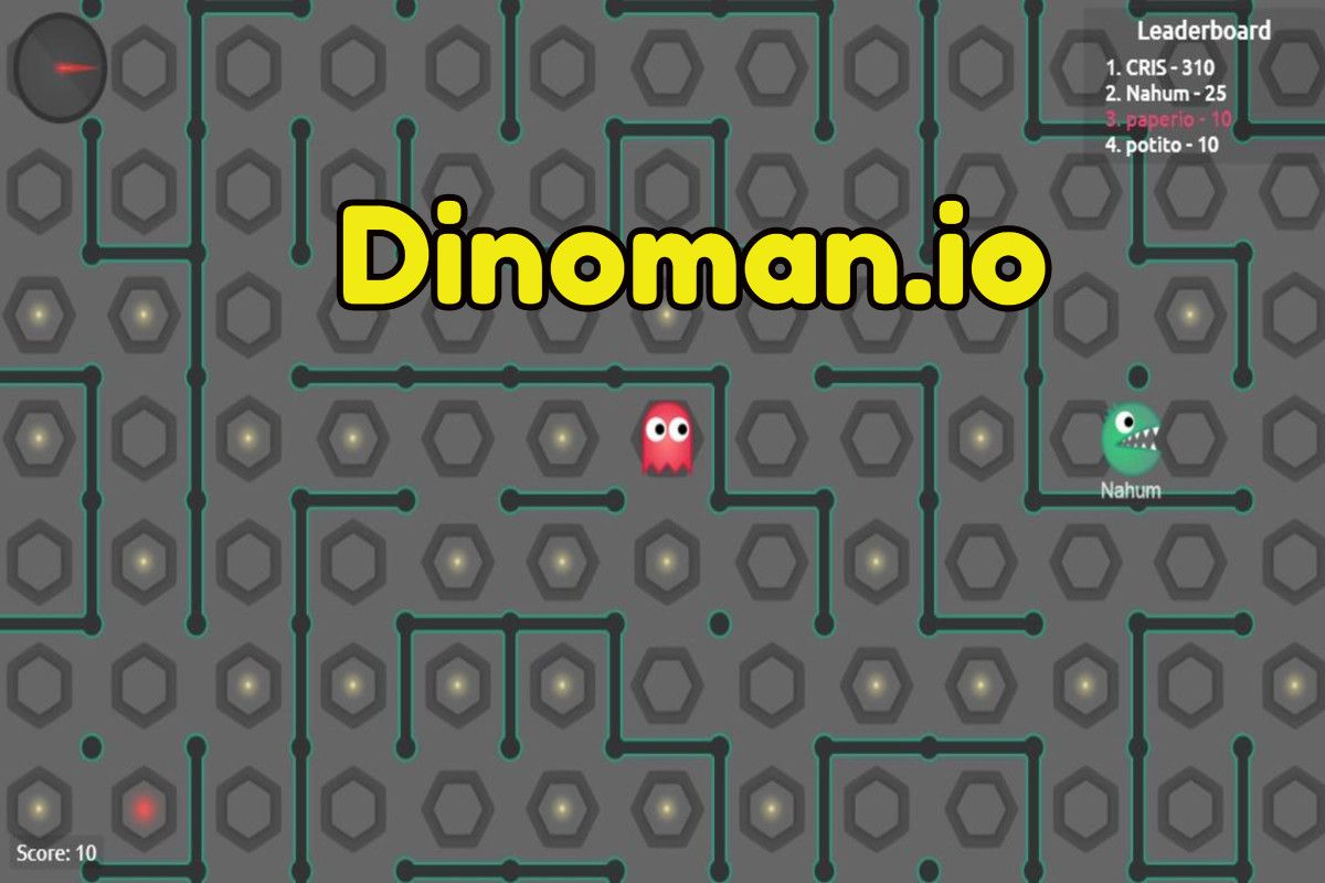 Enjoy new game Dinoman io, you can play it and enjoy at our