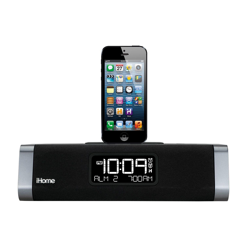 iHome AppEnhanced Dual Alarm Clock Radio Enhanced, App