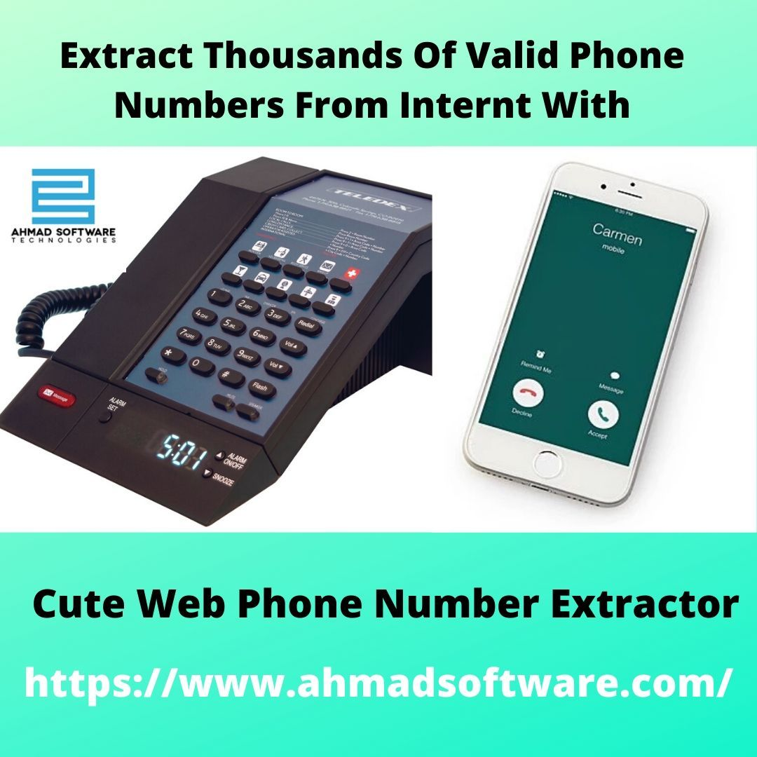 The Cute Web Phone Number Extractor Is A Program Designed Specifically For Extracting Phone Numbers From Many Different With Images Web Phone Phone Phone Numbers