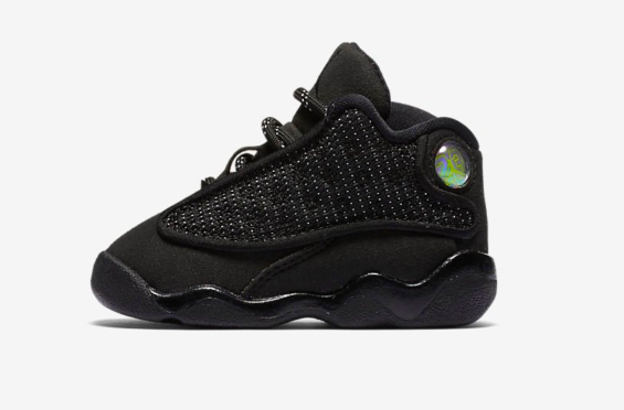 first rate 8dc0a ab9e3 The Air Jordan 13 Black Cat Is Coming In Toddler Sizes Too ...