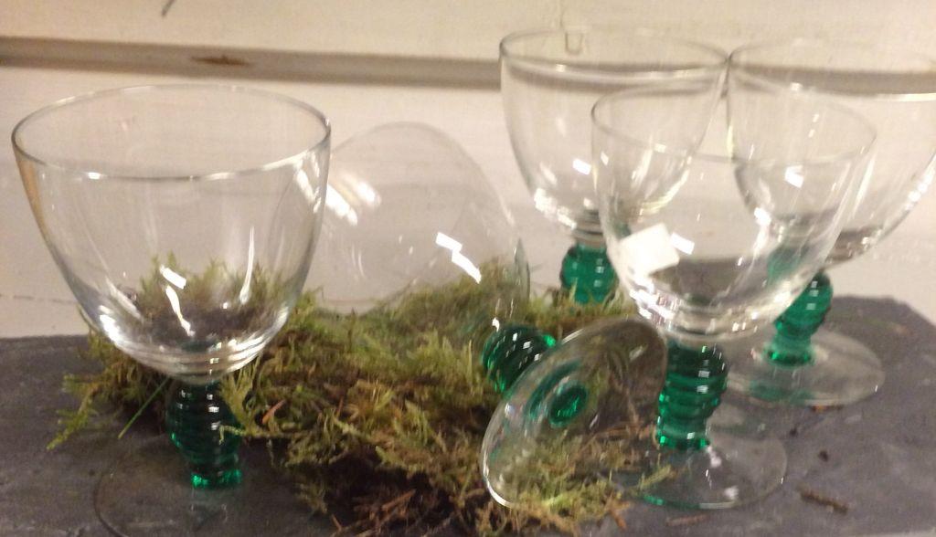 Gamle glass fra Hadeland glassverk design Sverre Pettersen .