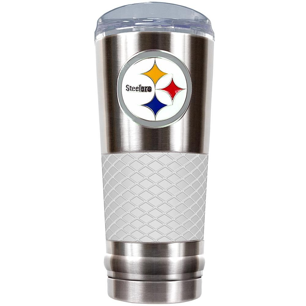 Products · Officially Licensed NFL 24 Oz. Stainless Steel/White Draft  Tumbler   Steelers