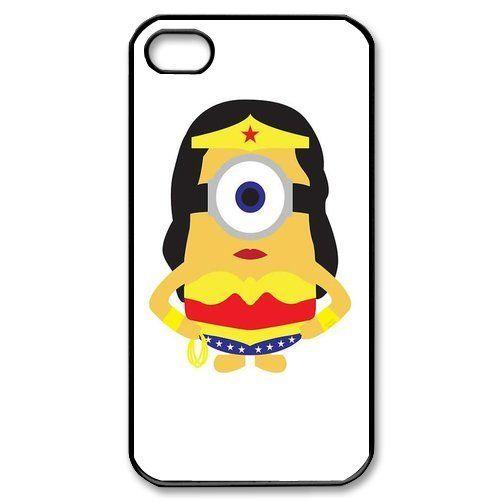 Wonder Woman Minion iphone case