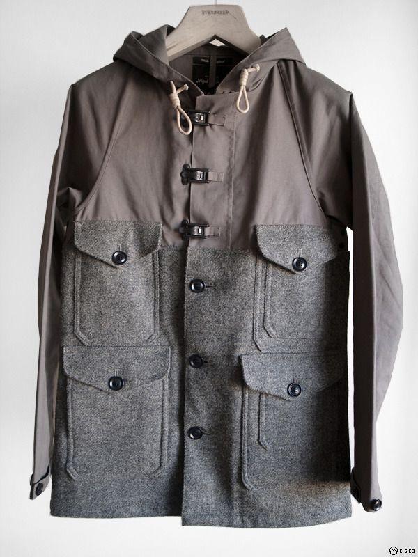 e11a774825eadf Nigel Cabourn - Mackintosh x Harris Tweed Cameraman Jacket — E-G ...
