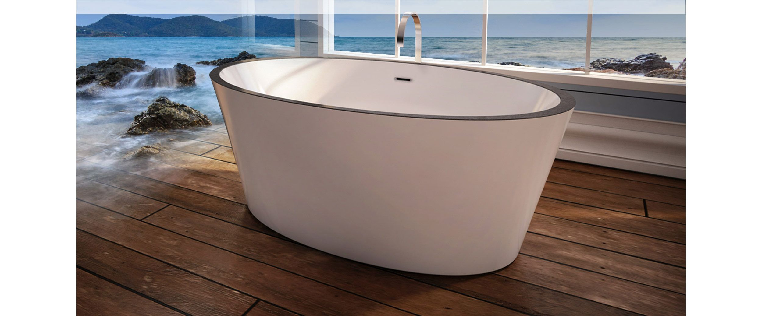 Bainultra - Air Jets Bath, Freestanding Bathtub, Therapeutic Baths And