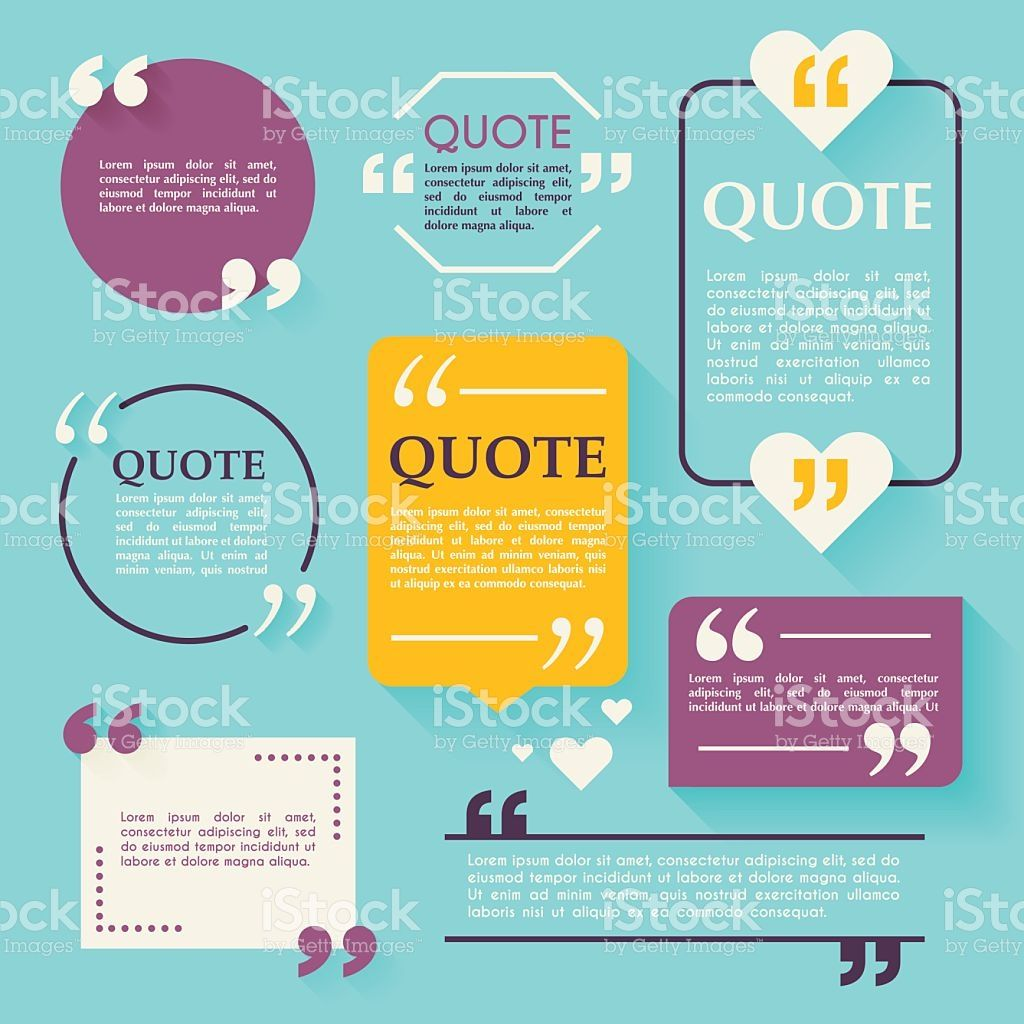 Quote blank template design elements circle business card template design elements circle business card temp royalty free stock vector colourmoves Image collections