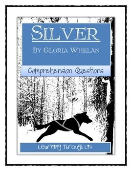 silver by gloria whelan comprehension text evidence books that rh pinterest com Listening for Lions Gloria Whelan Listening for Lions