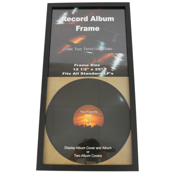 Green Tree Gallery Double Record Album Frame 12 1 2 X 25 Inches Black Mardel Album Frames Record Album Album