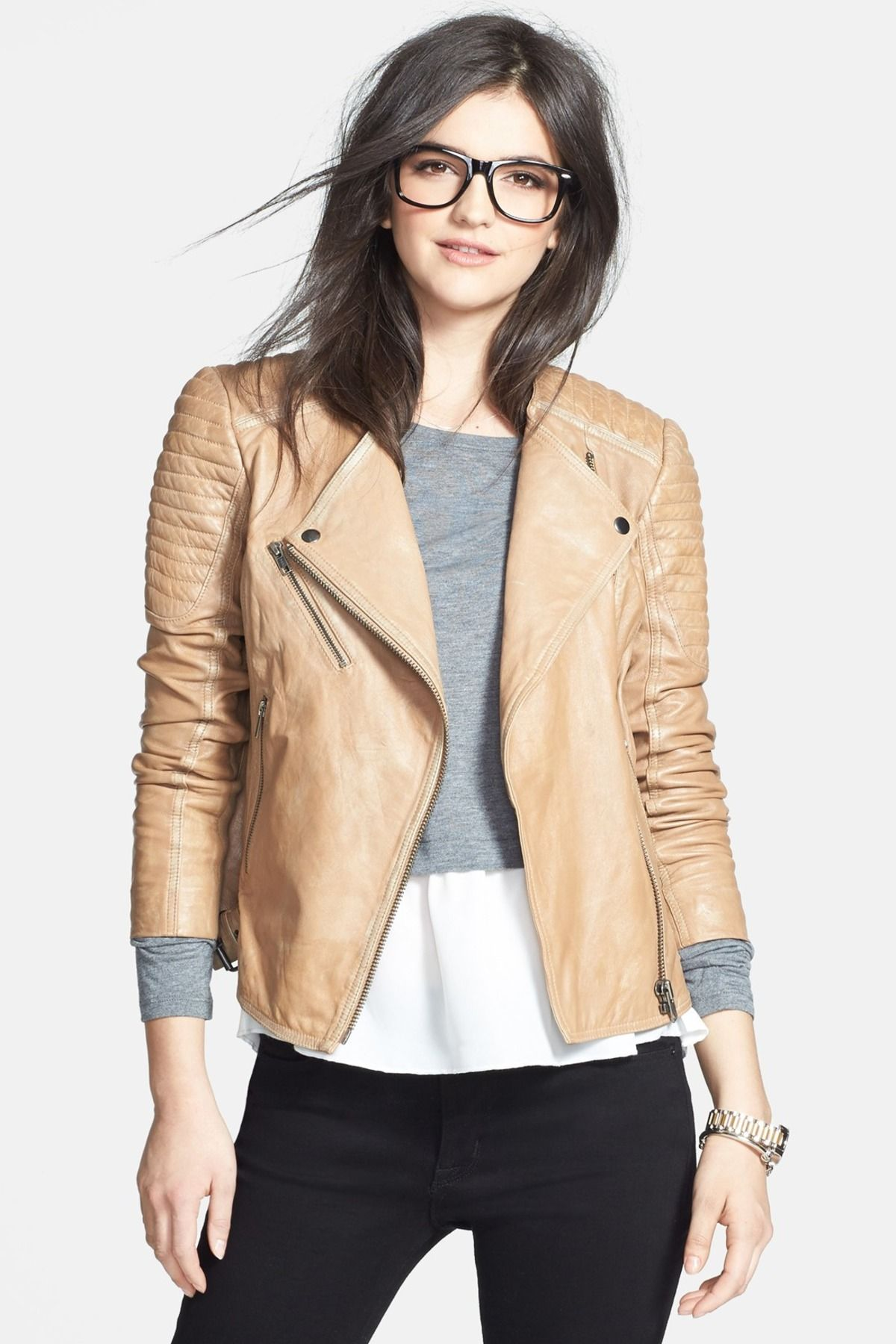 Quilted Leather Moto Jacket Cant A Teen Dream Pinterest