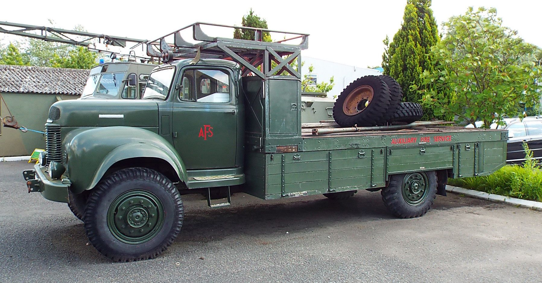 Auxiliary Fire Service Bedford Lorry 1944 Yorkshire Air
