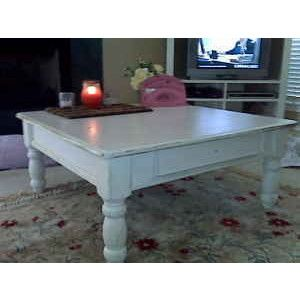 Square Shabby Chic Coffee Table