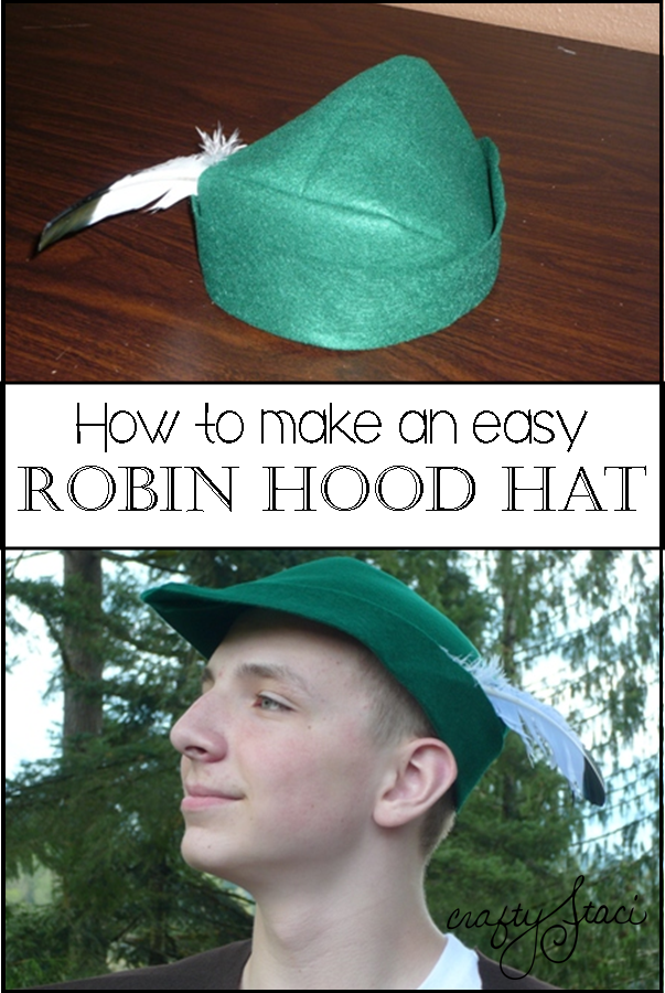 Learn How To Sew A Simple Felt Robin Hood Hat