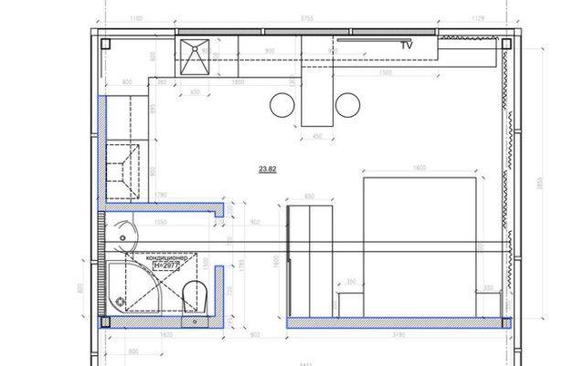 Štýlový interiér s rozlohou iba 24 m2