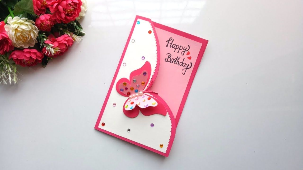 Magnificent Beautiful Handmade Birthday Card Idea Diy Greeting Cards For Personalised Birthday Cards Paralily Jamesorg