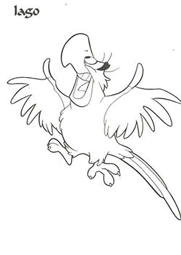 Aladdin Printable Coloring Pages In 2020 Cartoon Coloring Pages
