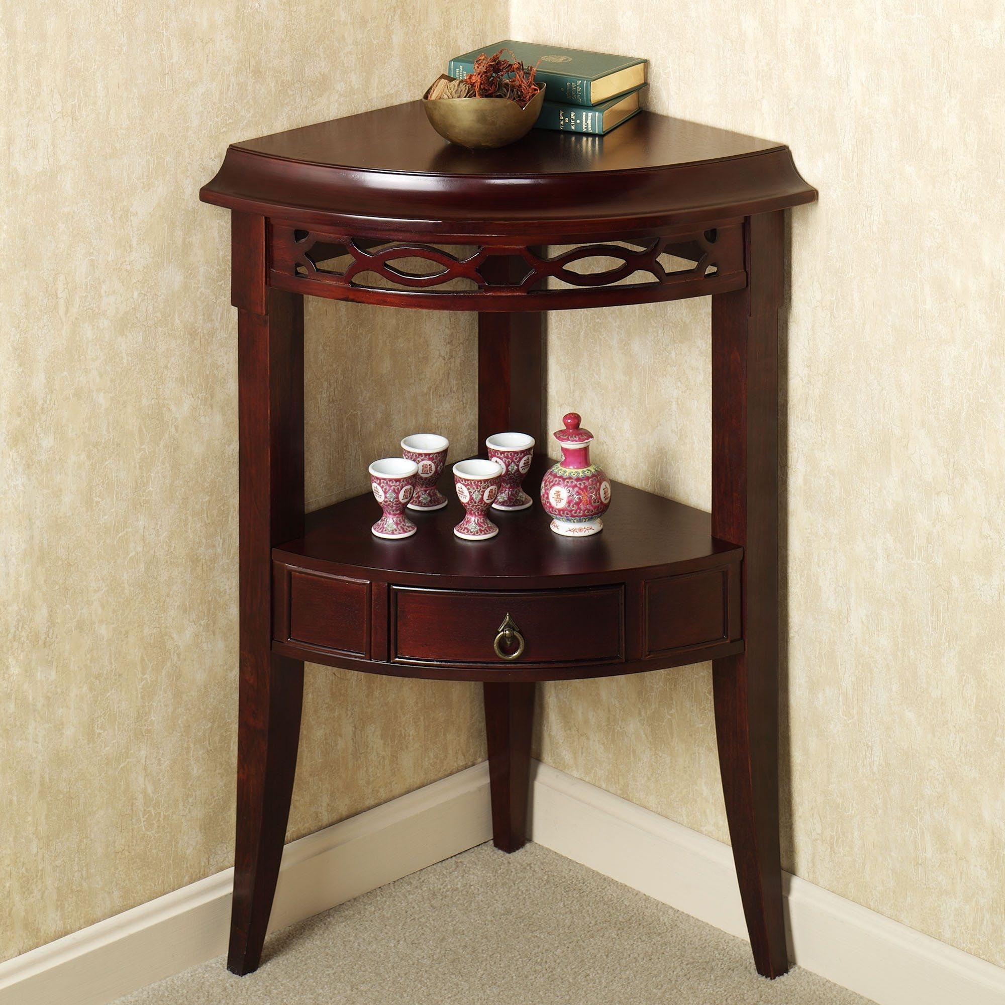 Fascinating Small Corner Table Accent Table Decor Decor Corner Accent Table