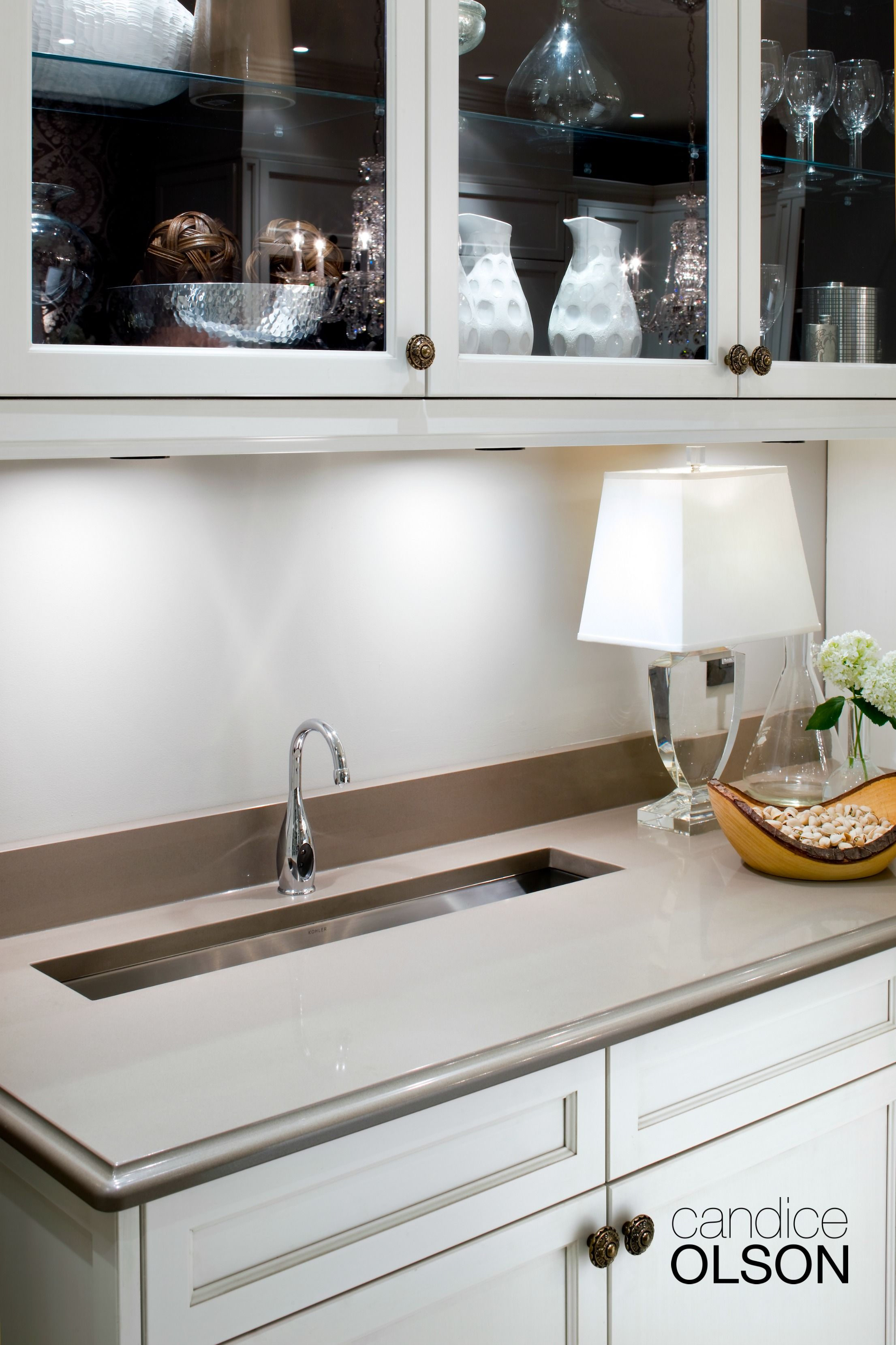 This Trough Sink Frees Up Counter Space In Addition To Doubling As A Handy Ice Bucket Duri Diy Kitchen Remodel Kitchen Remodeling Projects Kitchen Sink Install