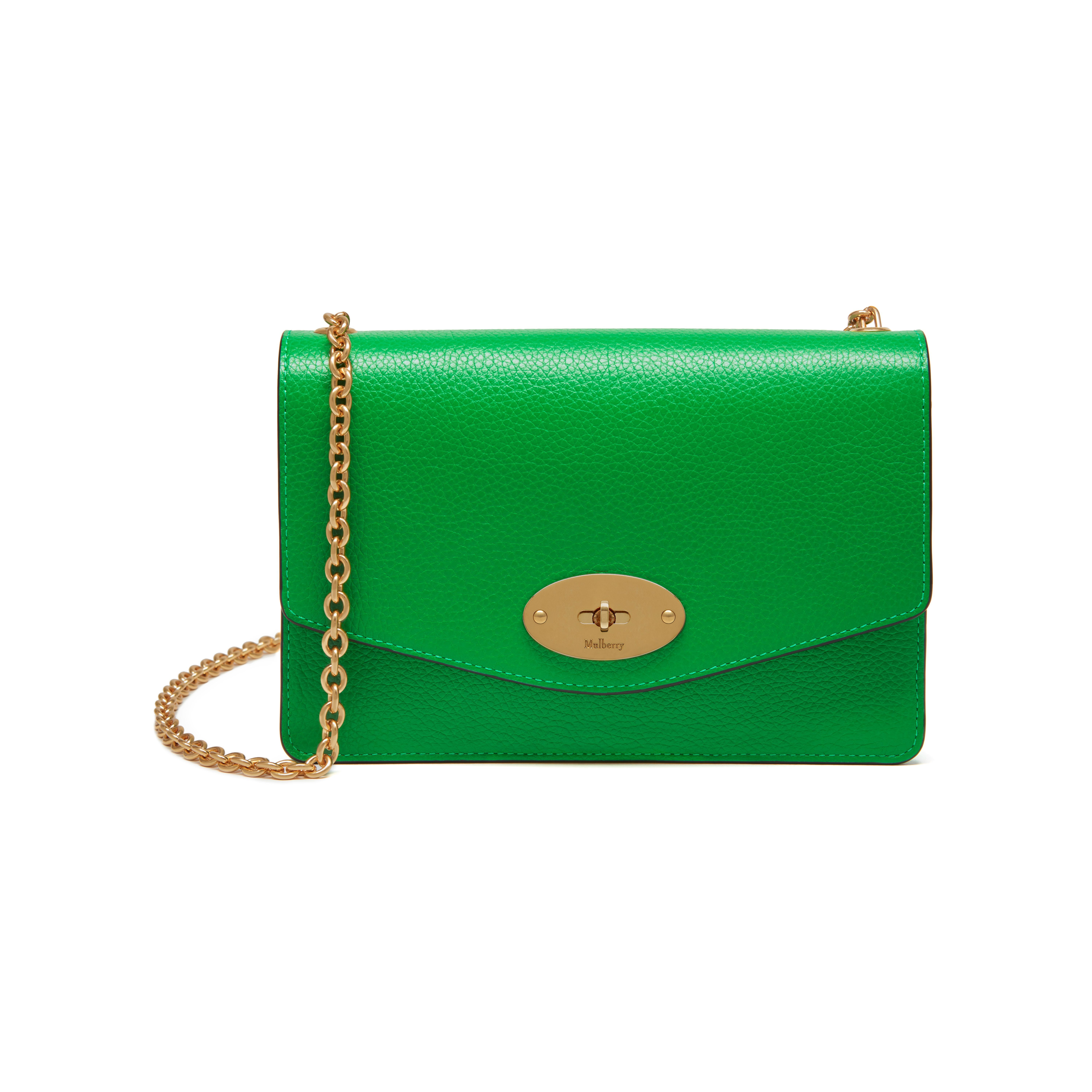 Shop the Small Darley in Grass Green Small Classic Grain Leather at Mulberry .com. fabbd671df