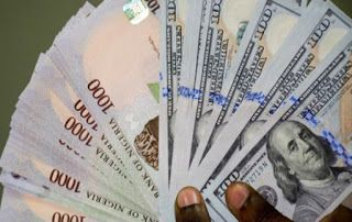 The Nigerian Naira Exchange Rate Today