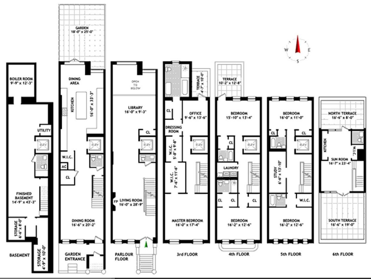 House design new york - New York Townhouse Floor Plans Uk Nyc Mhargitay Ny Townhouse Floor Plans House Plans