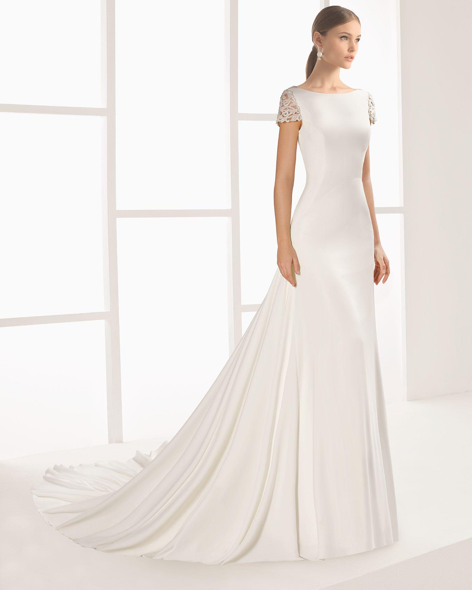 Lightweight wedding dresses  NINETTE  Wedding dresses  Pinterest  Wedding dress Blush
