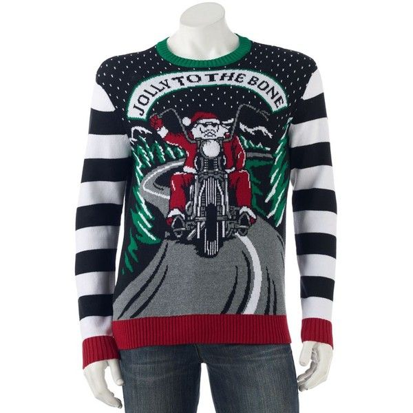 Men's Jolly to the Bone Light-Up Ugly Christmas Sweater (€28 ...