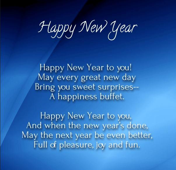 Short New Year Poems Happy New Year Poem New Year Poem Happy New Year 2019