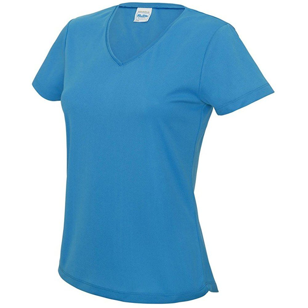 Women S V Neck Cooling T Shirt Twomen 07195 17 90 Cool T