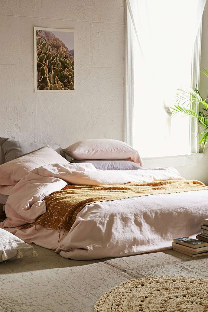 Embly Home Linen Blend Duvet Cover