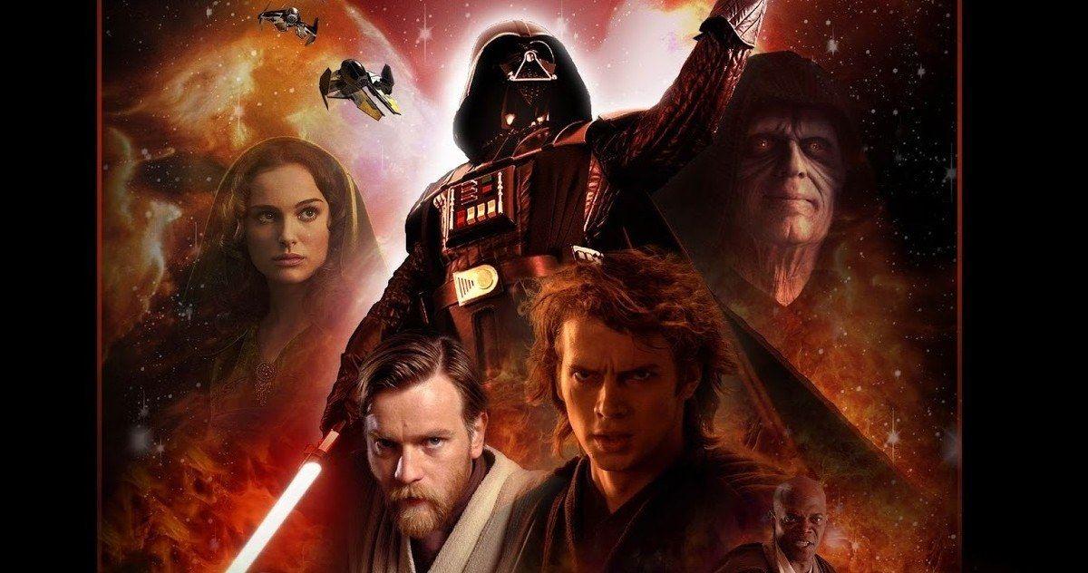 Watch Topher Grace S Star Wars Prequel Edit Trailer Star Wars Poster Star Wars Episodes Star Wars Episode Ii