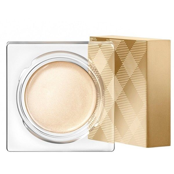 Burberry Eye Colour Cream - Sheer Gold No. 96 found on Polyvore featuring beauty products, makeup, eye makeup, eyeshadow, burberry, creamy eyeshadow and burberry eyeshadow