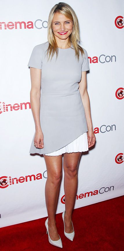 Look of the Day - March 28, 2014 - Cameron Diaz in Victoria Beckham from #InStyle