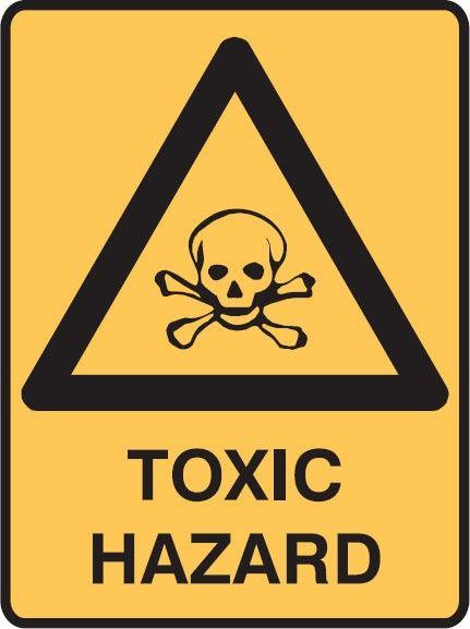 Warning Toxic Danger /& Warning Labels